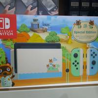 Nintendo switch console animal crossing new horizons