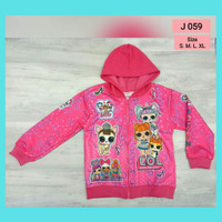 jaket anak perempuan lol hoodie j059 sweater anak jaket LOL