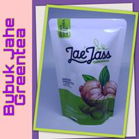 Jaejass BUBUK JAHE GREEN TEA/WEDANG JAHE/SARI JAHE/JAHE MERAH