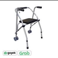 Alat Bantu jalan , rollator walker fs 914 L GEA, GOJEK -GRAB