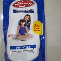 Lifebuoy Body Wash Sabun Mandi Cair Refill Mild Care 900ml