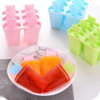 Cetakan Popsicle/ Cetakan Ice Cream Food Grade EHMR51 - Gepeng Blue