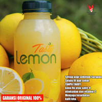 Tasty Lemon 500ml Original Sari Lemon California , Pure Lemon