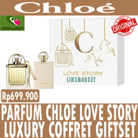 ORIGINAL PARFUM CHLOE LOVE STORY EDP LUXURY COFFRET GIFTSET / GIFT SET