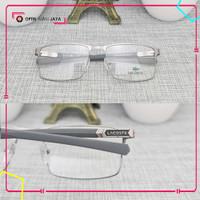 PREMIUM (FREE LENSA UV) Frame Kacamata Minus Baca Pria Lacoste LC220