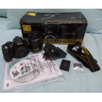 Kamera DSLR Nikon D3100 lens kit 18-55 3.5-5.6 VR
