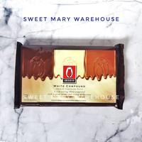 Coklat Putih Batang White Chocolate Compound 1kg Cokelat Tulip Cocoa