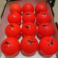 Bola golf Mizuno Orange