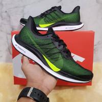Sepatu Running Pria Nike Zoom Pegasus 35 Black Volt