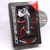 Ceramic Speed OSPW SRAM MEC RED Non Coated SRAM Red Force Mekanik