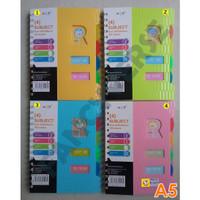 Notebook Spiral A5 GB-25223-1 / Agenda Diary Notes Buku Catatan