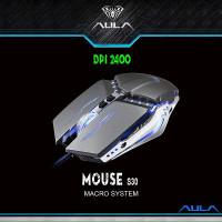 MOUSE AULA S30 MACRO SYSTEM DPI 2400