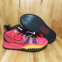 Sepatu basket nike kyrie 7 orange black