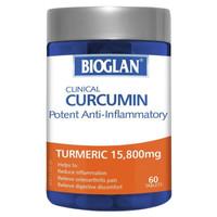 Bioglan Clinical Curcumin Anti-Inflammatory (Turmeric 15,800mg) isi 60