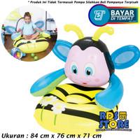 Bestway Sofa Angin Anak 75062 Motif Lebah Kuning Biru