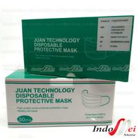 Masker Anak 3ply Juan Technology Medis Disposable Box 50pcs