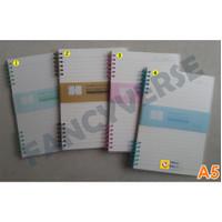 Notebook Spiral A5 FSXQ002-2 / Agenda Diary Notes Buku Catatan