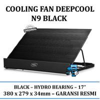 "Cooling Fan Deepcool N9 Black - 17"" Resmi"