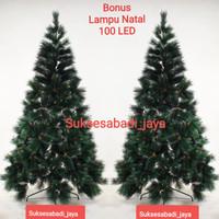 Pohon Natal SNOW WHITE PINE TREE (kode 1688) Ukuran 5 Ft/150Cm