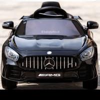 Mainan Anak Mobil Aki Pliko. Mercedes Benz GTR AMD 8228 /8148