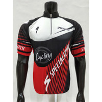 baju kaos jersey sepeda-kaos jersey specialized pendek grade ori - L