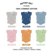 MOOI Setelan Baju Anak Retro Set - 1t