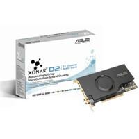 Soundcard Asus Xonar D2 PCI 7.1 High Definition Sound Card 118dB SNR