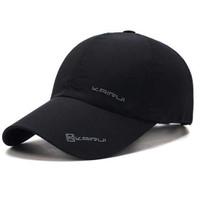 KAIRUI Topi Baseball Golf Visor Sport Fashion Hat - Hitam