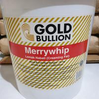 [Repack] GOLD BULLION Merrywhip Creaming Fat 500 gr (Whip Cream)