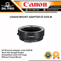 CANON MOUNT ADAPTER EF-EOS M TO EOS EF EF-S ADAPTOR CANON