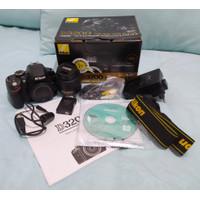 Kamera DSLR Nikon D3200 lens kit 18-55 3.5-5.6 VRII