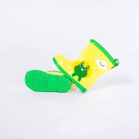 Sepatu boots anak PAUD TK / sepatu hujan animal lis / karet - 1903A