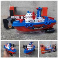 RC Fire Boat Kapal Pemadam RC REMOTE No.26-3