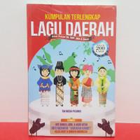 Buku Kumpulan Lagu Daerah Untuk Pelajar SD SMP SMA & UMUM