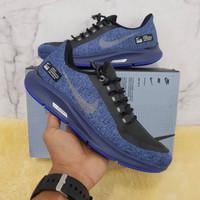 Sepatu Running Pria Nike Zoom Pegasus Shield Navy