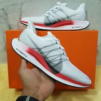 Sepatu Running Pria Nike Zoom Pegasus Turbo 35 White Red