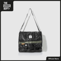 THE GOODS DEPT - OVER-P EASY LARGE SLING BAG BLACK