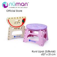 NUMAN Kursi Lipat PLastik Bulat Small 21 cm 2.001 Foldable Chair