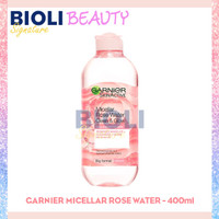GARNIER MICELLAR ROSE WATER Cleanse & Glow 400ml - Bioli Beauty