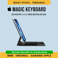 Apple Magic Keyboard 11. 12.9 inch for Ipad Pro dan Air 2018 2020