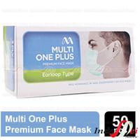Masker Medis MultiOne Plus 3 ply Kemenkes 1 Box isi 50pcs Disposable
