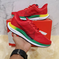 Sepatu Running pria Nike Zoom Pegasus Turbo 35 Red Green Yellow