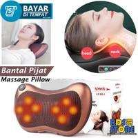202-1 Speeds Bantal Pijat 8 Bola Massage Pillow Mobil dan Rumah