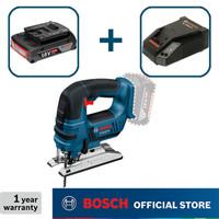 Bosch Jigsaw Baterai Full Set GST 18 V-LI GEN2 (Baterai 2.0Ah)