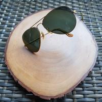 Sunglasses, Kacamata Ray Ban BL Made in USA Aviator Vintage, Lawas