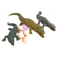 Mainan Binatang Buaya Telur 3 pcs