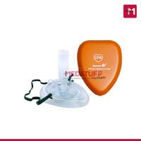 Masker CPR Pocket dengan Tube Resusitator Masker Resusitasi