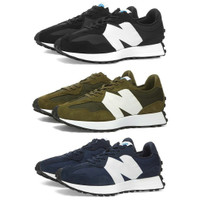 Sepatu Sneakers New Balance 327 Black, Navy, Olive Green