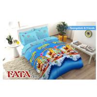Bed Cover King FATA Spongebob & Friends