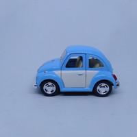 diecast miniatur mobil VW kodok beetle kinsfun kinsmart